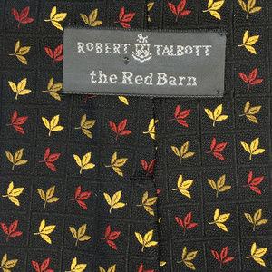 Robert Talbott Autumn Leaves Embroidered Silk Tie